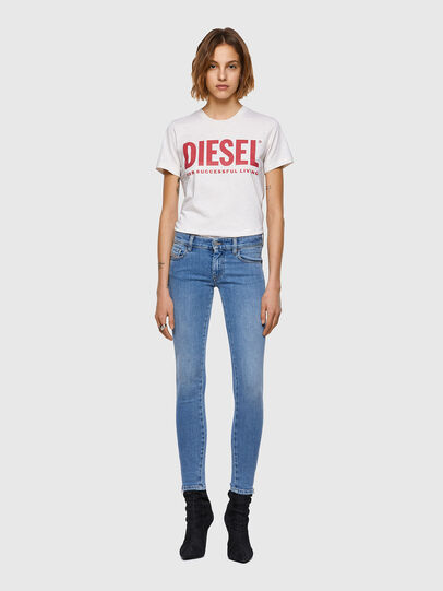Diesel - Slandy Low 009ZY, Hellblau - Jeans - Image 5