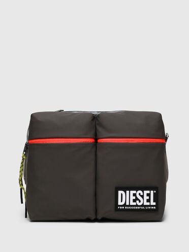 Messenger-Tasche im Farbblock-Design mit mehreren Tragemöglichkeiten
