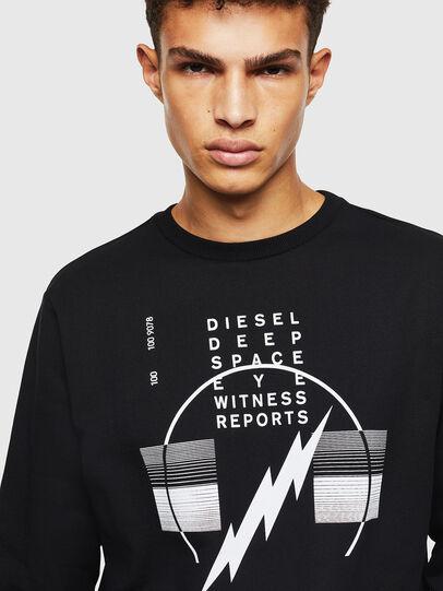 Diesel - S-GIRK-J2, Schwarz - Sweatshirts - Image 3