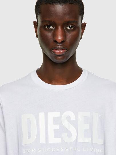 Diesel - T-JUST-INLOGO, Weiß - T-Shirts - Image 3