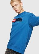 S-CREW-DIVISION, Blau - Sweatshirts