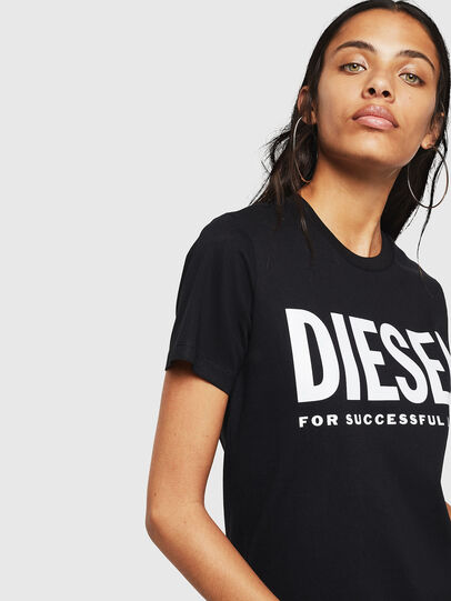 Diesel - T-SILY-WX, Schwarz - T-Shirts - Image 3