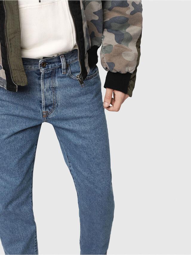 Diesel - Mharky 0077V, Mittelblau - Jeans - Image 5