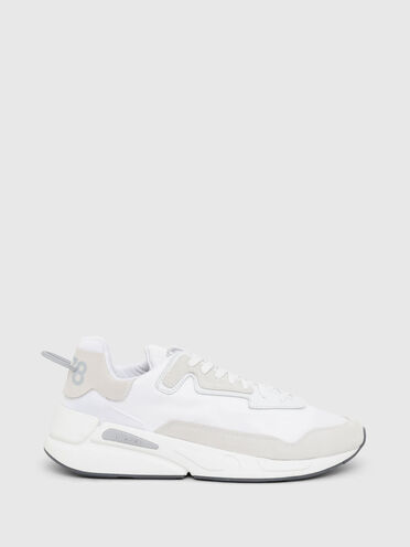 Sneakers aus Nylon, Leder und Wildleder