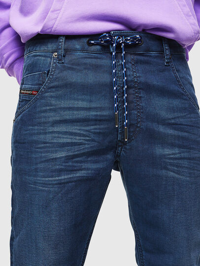 Diesel - Krooley JoggJeans 0098H, Mittelblau - Jeans - Image 5