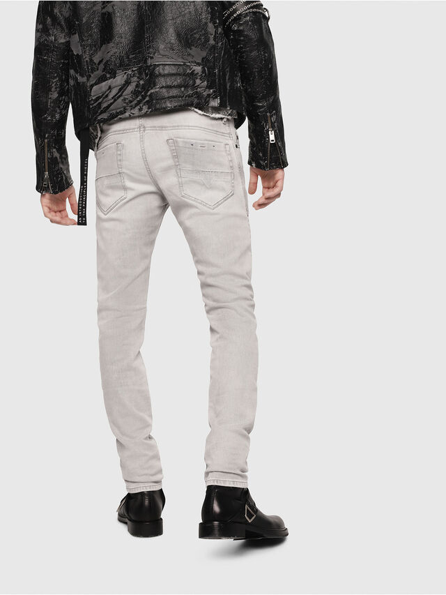 Diesel Thommer 0684I, Hellgrau - Jeans - Image 2