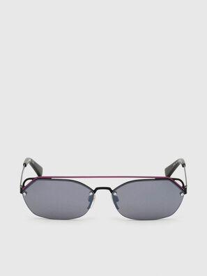 DL0313, Schwarz/Violett - Sonnenbrille