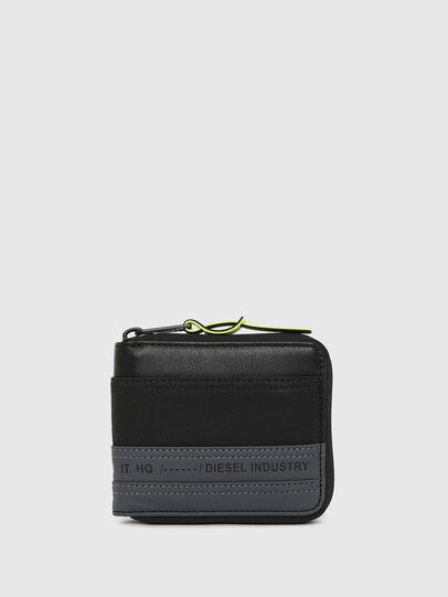 Diesel - ZIPPY HIRESH S, Schwarz/Blau - Portemonnaies Zip-Around - Image 1