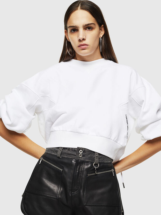 F-MONDY, Weiß - Sweatshirts