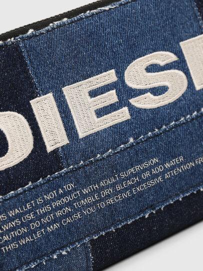 Diesel - GRANATO LC, Jeansblau - Portemonnaies Zip-Around - Image 3