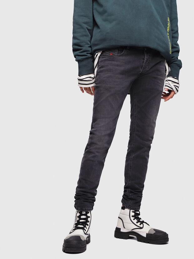 Sleenker 069EQ, Schwarz/Dunkelgrau - Jeans