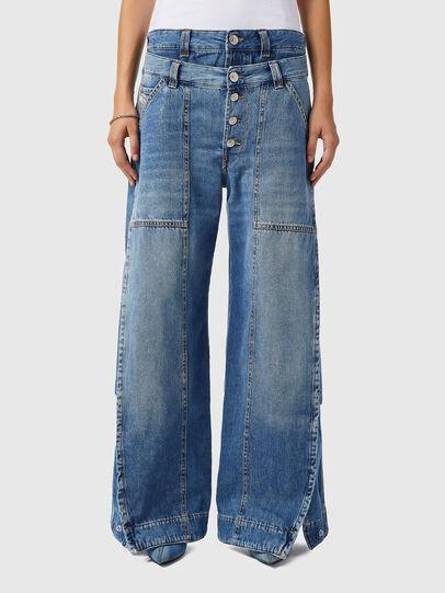 Diesel - D-Laly 0AFAM, Mittelblau - Jeans - Image 1