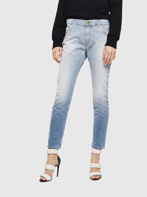 Krailey JoggJeans 0099R, Hellblau - Jeans