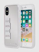 BLAH BLAH BLAH IPHONE X CASE, Weiß/Silber - Schutzhüllen