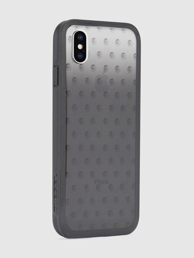 Diesel MOHICAN HEAD DOTS BLACK IPHONE X CASE, Schwarz/Grau - Schutzhüllen - Image 5