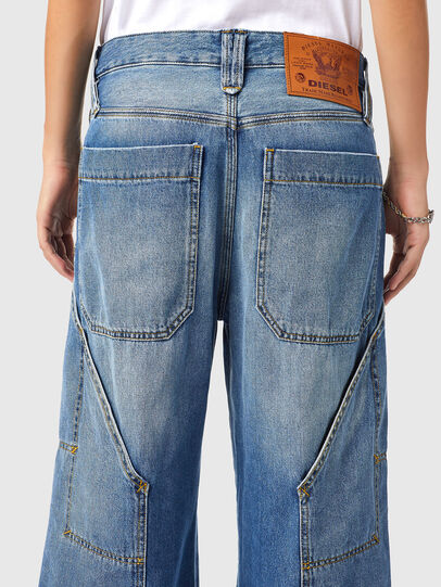 Diesel - D-Laly 0AFAM, Mittelblau - Jeans - Image 4