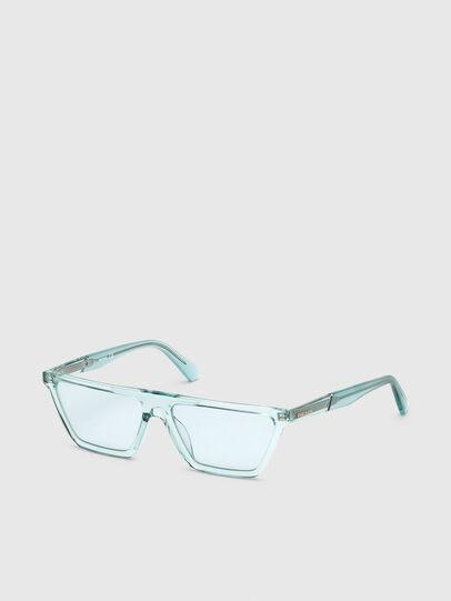 Diesel - DL0304, Azurblau - Sonnenbrille - Image 2