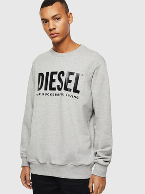 S-GIR-DIVISION-LOGO, Grau - Sweatshirts