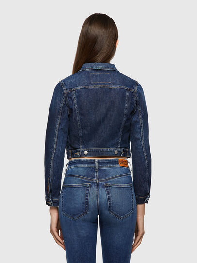 Diesel - DE-BLONDY, Dunkelblau - Denim jacken - Image 2