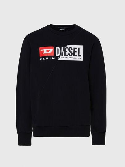 Diesel - S-GIRK-CUTY, Schwarz - Sweatshirts - Image 1