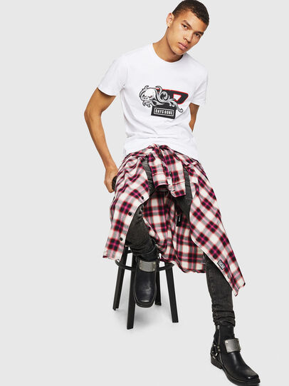 Diesel - PS-T-DIEGO-OCTOSKULL,  - T-Shirts - Image 6