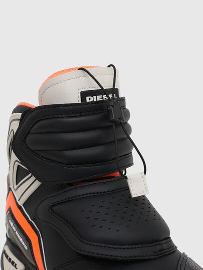 Diesel - ASTARS-SKBOOT, Schwarz/Orange - Sneakers - Image 5