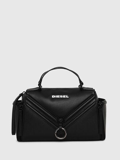 Diesel - LE-ZIPPER SATCHEL, Schwarz - Satchel Bags und Handtaschen - Image 1