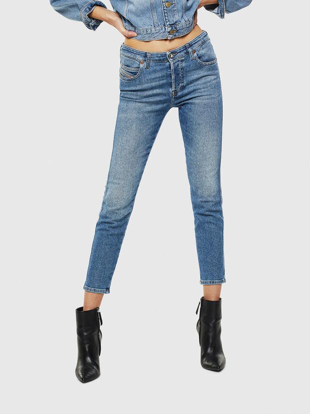 Babhila 084PR, Mittelblau - Jeans