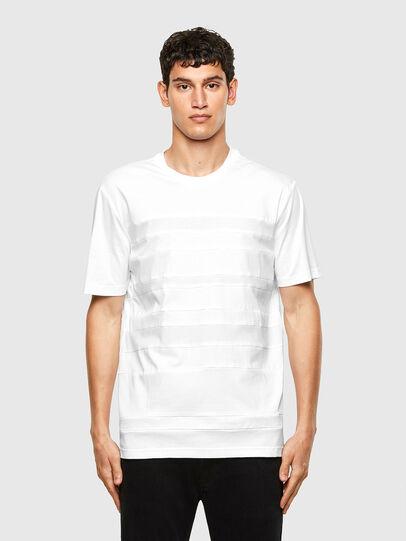 Diesel - T-LOUD, Weiß - T-Shirts - Image 1