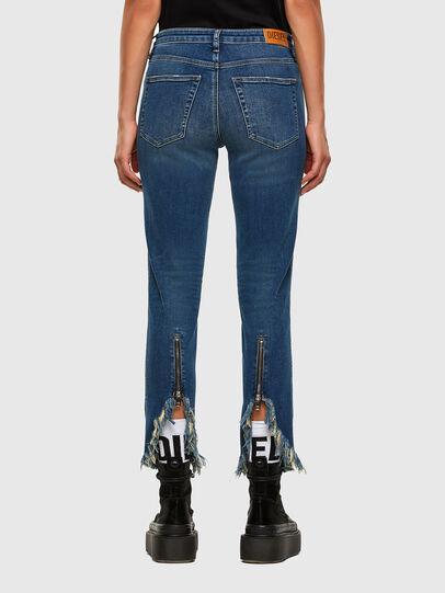 Diesel - Babhila-Zip 009EZ, Mittelblau - Jeans - Image 2