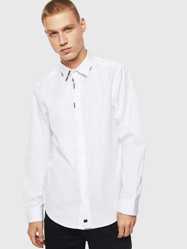 S-MARLENE, Weiß - Hemden