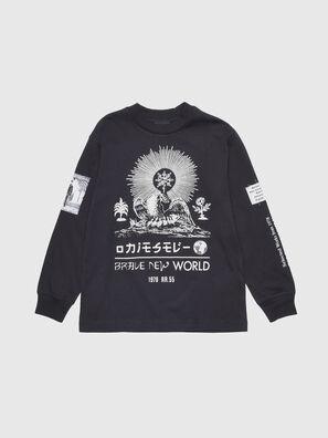 TLUCASLSYA OVER, Schwarz - T-Shirts und Tops
