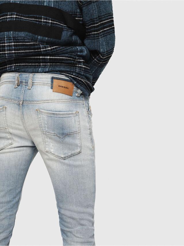 Diesel - Sleenker 081AJ, Hellblau - Jeans - Image 4