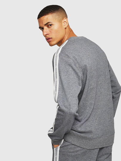Diesel - UMLT-WILLY, Grau - Sweatshirts - Image 2