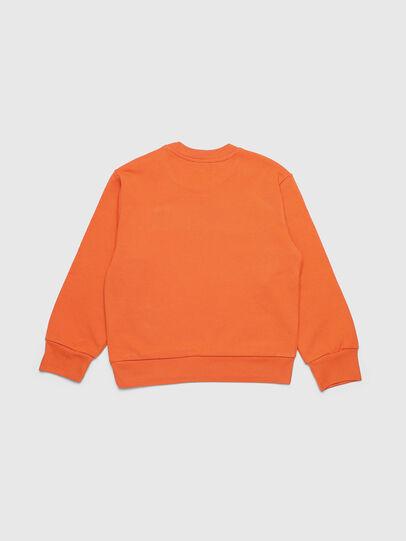 Diesel - SCREWDIVISION OVER, Orange - Sweatshirts - Image 2