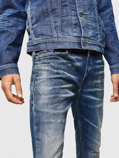 Diesel - Thommer JoggJeans 0870Q, Mittelblau - Jeans - Image 3