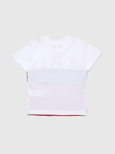 Diesel - TRICKYB-R, Weiß/Rot/Blau - T-Shirts und Tops - Image 2