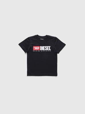 TJUSTDIVISIONB-R, Schwarz - T-Shirts und Tops
