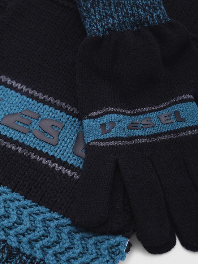 Diesel - CADO-KIT, Schwarz/Blau - Schals - Image 2