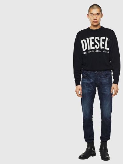 Diesel - D-Bazer 0095W, Dunkelblau - Jeans - Image 5