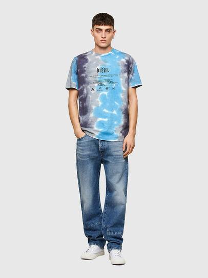 Diesel - T-JUST-E13, Grau/Blau - T-Shirts - Image 4