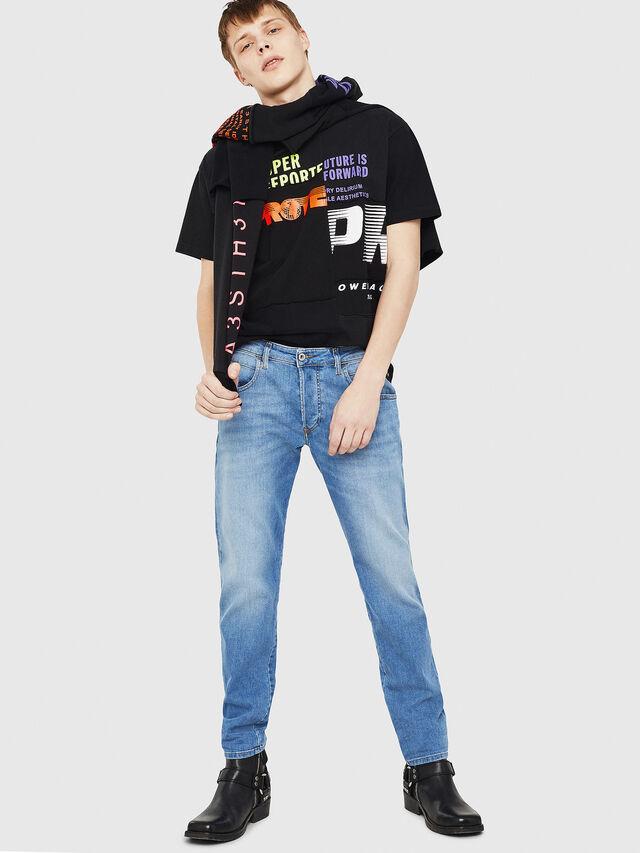 Diesel - D-Bazer 087AQ, Hellblau - Jeans - Image 5
