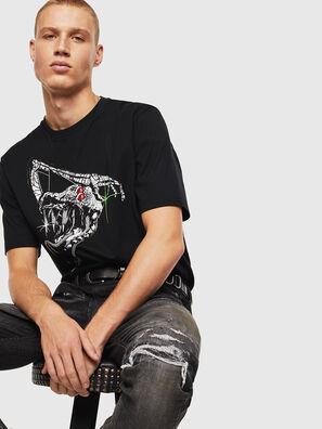 T-JUST-J15, Schwarz - T-Shirts