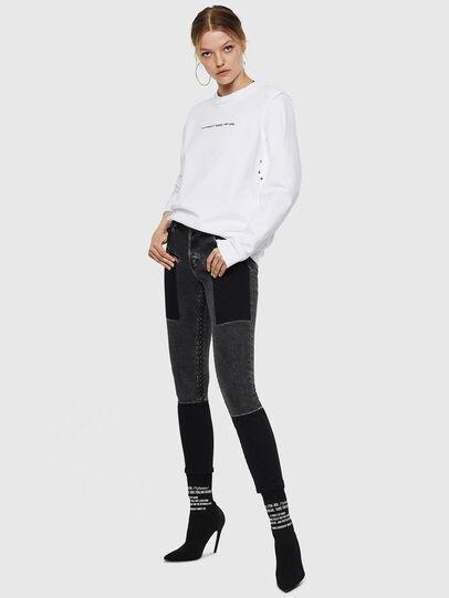 Diesel - F-LYANY-F, Weiß - Sweatshirts - Image 5