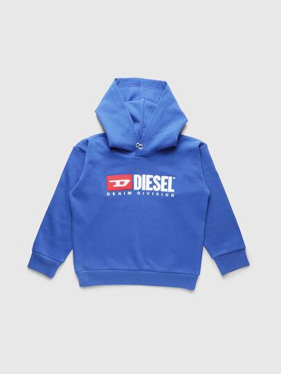 Diesel - SDIVISION OVER, Himmelblau - Sweatshirts - Image 1
