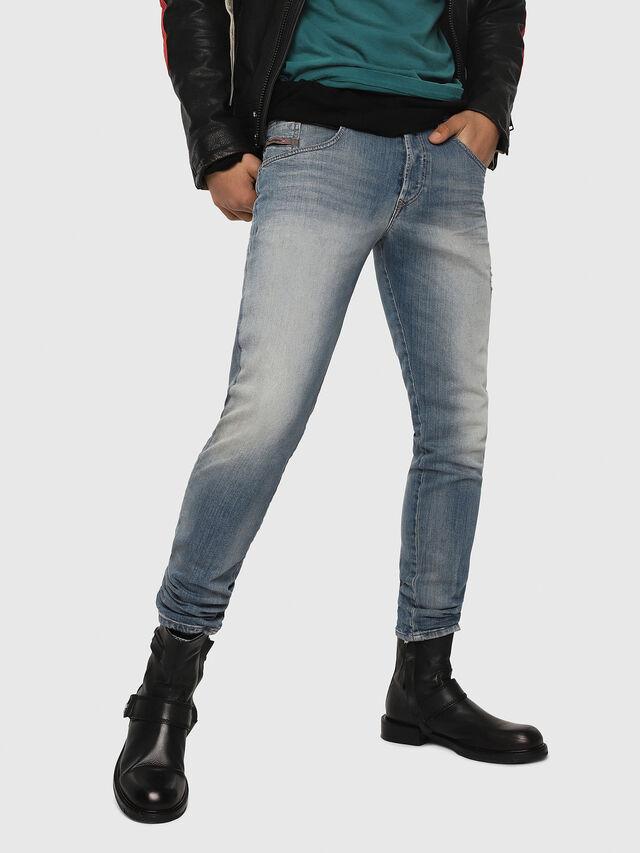 Diesel - D-Bazer 081AP, Hellblau - Jeans - Image 1