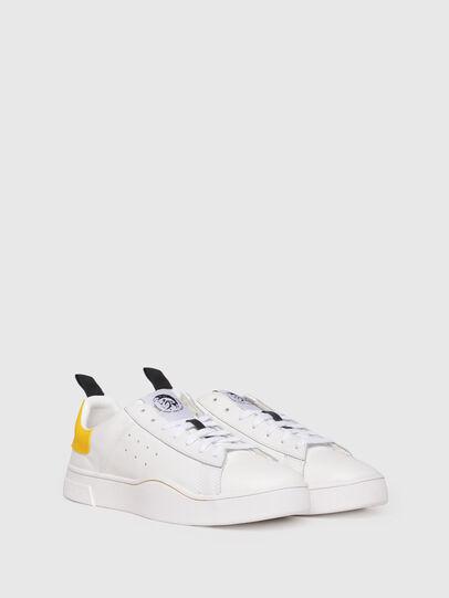 Diesel - S-CLEVER LOW, Weiß/Gelb - Sneakers - Image 2