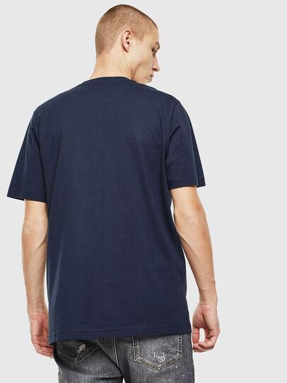 Diesel - T-JUST-J14, Blau/Weiß - T-Shirts - Image 2