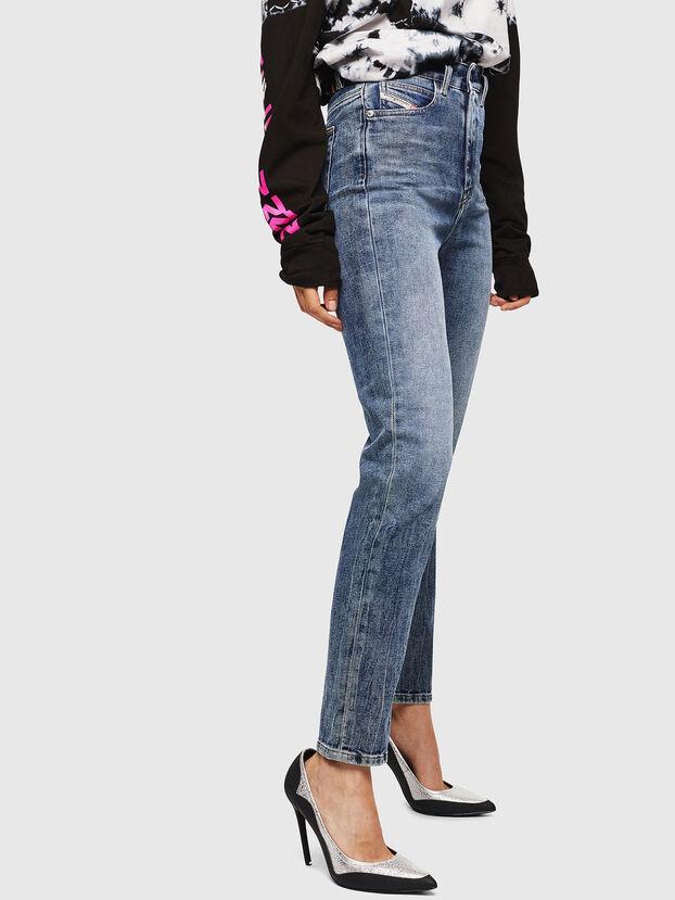 D-Eiselle 0098W, Mittelblau - Jeans