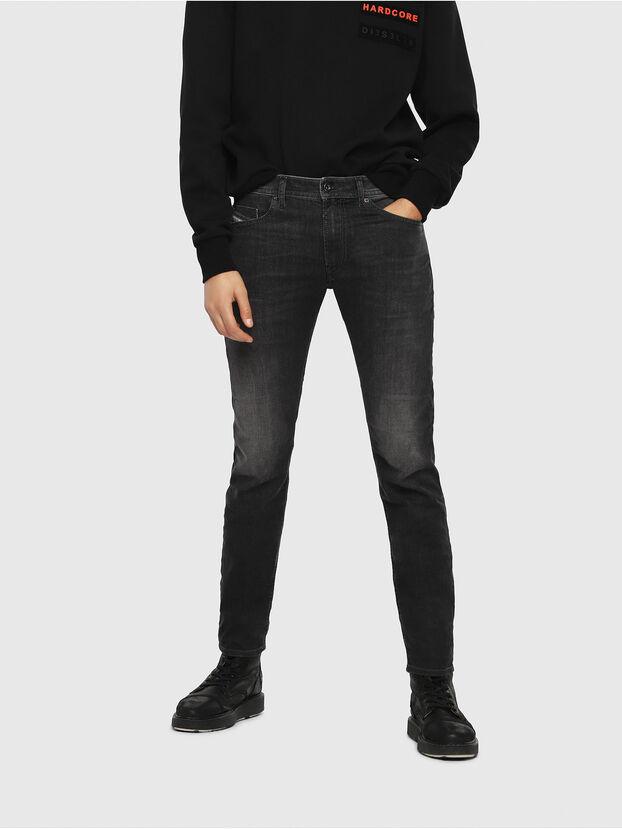 Thommer 0687J, Schwarz/Dunkelgrau - Jeans